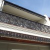Install Cast Iron Lace / Frieze to Terrace house